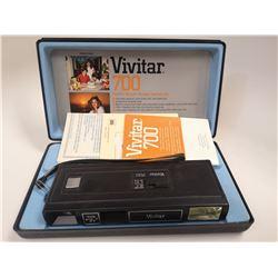 VINTAGE VIVITAR COMPACT CAMERA IN CASE