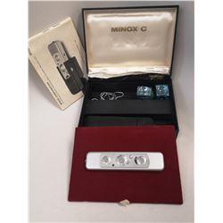 MINOX C SPY CAMERA WITH BOX AND CASE