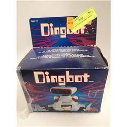 VINTAGE TOMY DINGBOT ROBOT