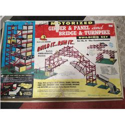 1960 KENNER DELUXE GIRDER AND PANEL SET