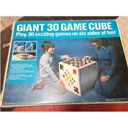 VINTAGE IRWIN 30 GAME CUBE SET