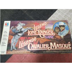 LEGEND OF THE LONE RANGER BOARD GAME