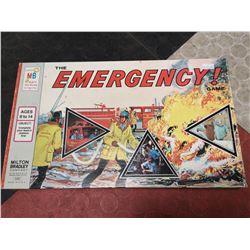 VINTAGE EMERGENCY BOARD GAME