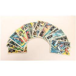 LOT OF 19 1966 BATMAN CARDS ORIGINAL