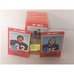 1971 CFL FOOTBALL CARD SET O PEE CHEE