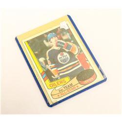 1980 TOPPS WAYNE GRETZKY 2ND CARD ALL STAR
