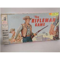 1960S RIFLEMAN BOARD GAME MILTON BRADLEY