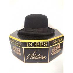 VINTAGE BOWLER HAT IN BOX KLONDIKE