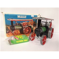 MAMOD STEAM TRACTOR WITH FUEL AND BOX