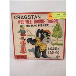 1950S CRAGSTON REMOTE PEE WEE DOGGIE IN BOX