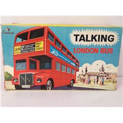 1960S DOUBLE DECKER BUS TOY IN ORIG BOX