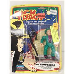 1990 DICK TRACY SHOULDERS FIGURE SEALED