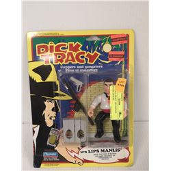 1990 DICK TRACY LIPS MANLIS FIGURE SEALED
