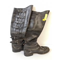 1960S MOTORCYCLE CAFE RACER BOOTS MENS SIZE 10