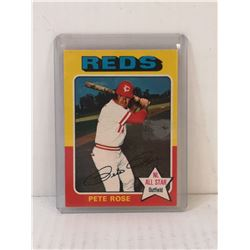 1975 PETE ROSE ALL STAR BASEBALL CARD OPC