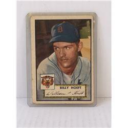 1952 TOPPS BILLY HOEFT BASEBALL CARD