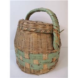 ANTIQUE INDIGENOUS MADE BASKET FROM MARY