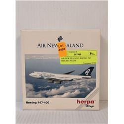 AIR NEW ZEALAND BOEING 747 DIECAST PLANE