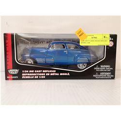 1948 CHEVY AERO SEDAN DIECAST MODEL CAR