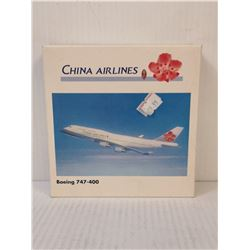 CHINA AIRLINES DIECAST COLLECTOR AIRPLANE