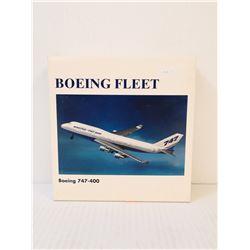 BOEING FLEET 747 COLLECTIBLE DIECAST PLANE