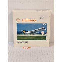LUFTHANSA BOEING 727 DIECAST PLANE