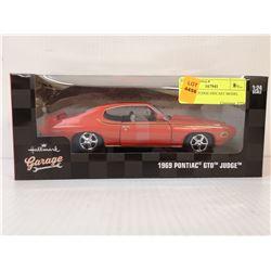 1969 GTO JUDGE DIECAST MODEL CAR
