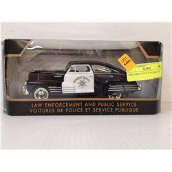 1948 CHEVY POLICE PATROL CAR