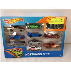HOT WHEELS TEN PACK COLLECTOR SET SEALED