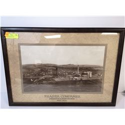 1900S FRASER PULP MILL ADVERTISING PICTURE