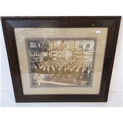 1920 CANADIAN FORD DEALER CONVENTION PIC FRAMED