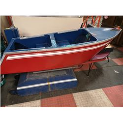 1950S COIN OPERATED KIDDIE BOAT RIDE