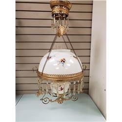 VINTAGE OIL LAMP CHANDELIER