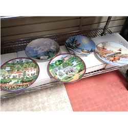 LOT OF 5 BRANTFORD COLLECTOR PLATES