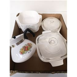 SET OF 10 SPICE OF LIFE CORNING WARE