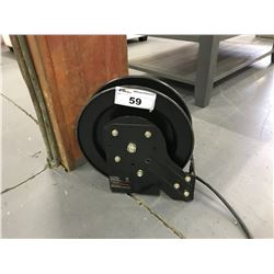 50 FT 12\3 TRIPLE END RETRACTABLE CORD REEL WITH EXTENSION CORD
