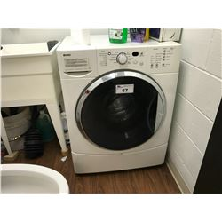 WHITE KENMORE HE2T FRONT LOAD WASHING MACHINE