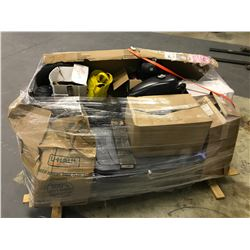 PALLET OF HARLEY-DAVIDSON MOTORCYCLE PARTS & GEAR