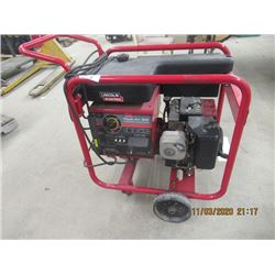 Lincoln Arc 5000 AC Generator - AC Stick Welker 11 HP Gas Drive New Condition 1.9 Hrs