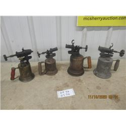 4 Blow Torches