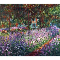 Claude Monet - Monet's Garden in Giverny