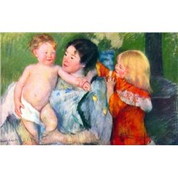 Mary Cassatt - After the Bath