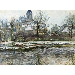 Claude Monet - Snow in Vetheuil
