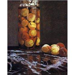 Claude Monet - The Peach Glass