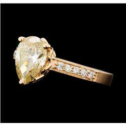 2.02 ctw Diamond Ring - 14KT Rose Gold