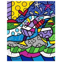 Wine Country Purple by Britto, Romero