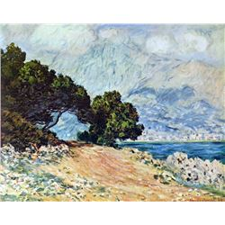 Claude Monet - Cape Martin in Menton