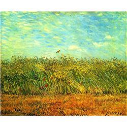 Van Gogh - Wheat Field With A Lark