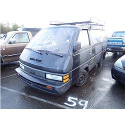 1987 Nissan Van