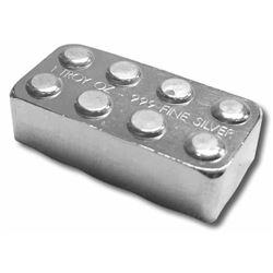 Lego Style Stacking Brick .9999 Fine Silver  1oz ASW